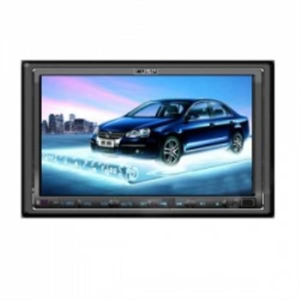 """DVD Player Barato 2 Din Tela HD Touchscreen de 6.2"""" 3D GUI e GPS para Carros + 2GB de Mapas Gratuit"""