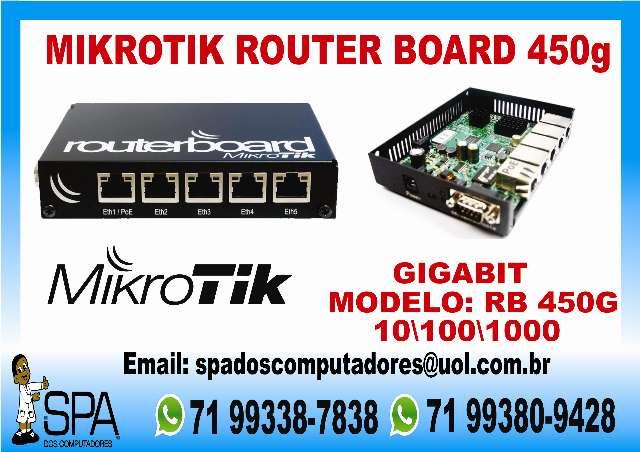 Mikrotik Routeboard Rb 450G em Salvador Ba