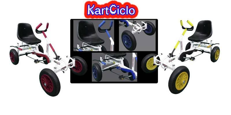 Carrinho A Pedal, Kartciclo, Pedalcar Kart, Quadriciclo