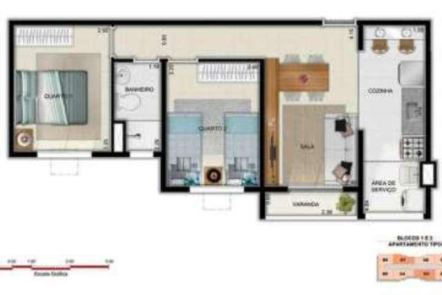 Apartamentos de 2 quartos