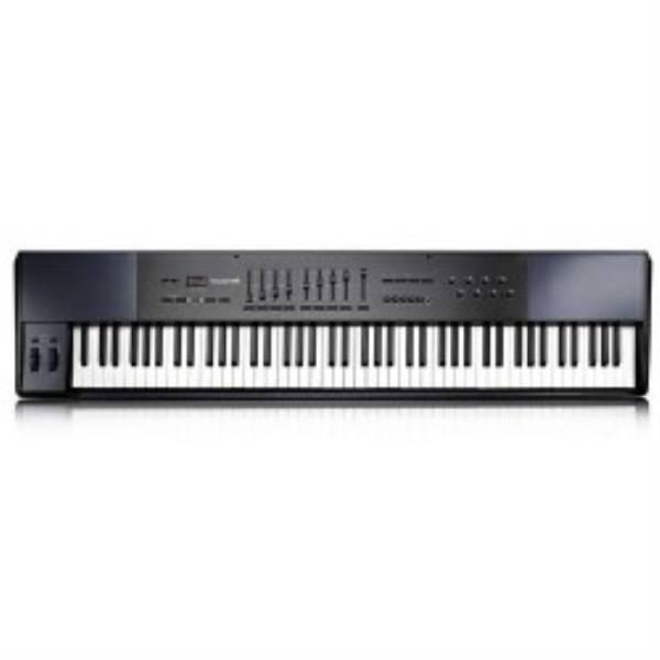 M-Audio Oxygen 88 USB controlador de teclado MIDI - 88-Keys, 8 atribuíveis Puxadores, 9 atribuíveis