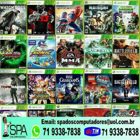 Jogos  para Xbox 360 Desbloqueado em Salvador Ba