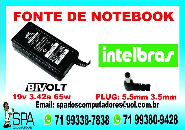 Fonte Carregador Notebook Intelbras em Salvador Ba
