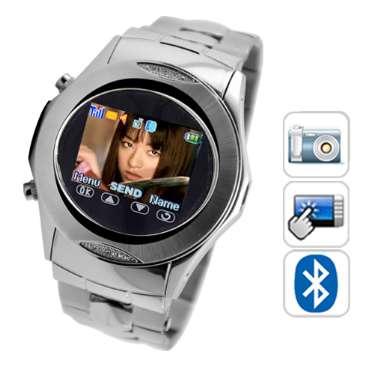 2c17f416ee9 pronta entrega estoque no Brasil cartão mini SD de 2GB GRÁTIS O telefone do  relógio Assassin vem com construído na câmera