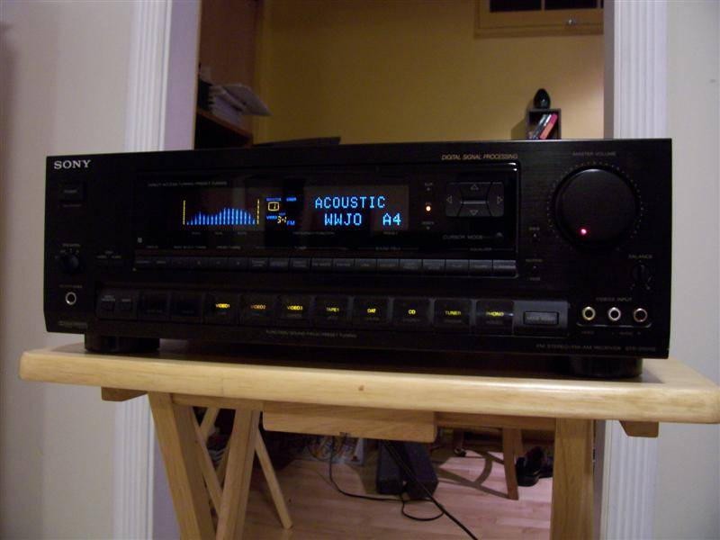 VENDO RECEIVER Sony STR-D1011S
