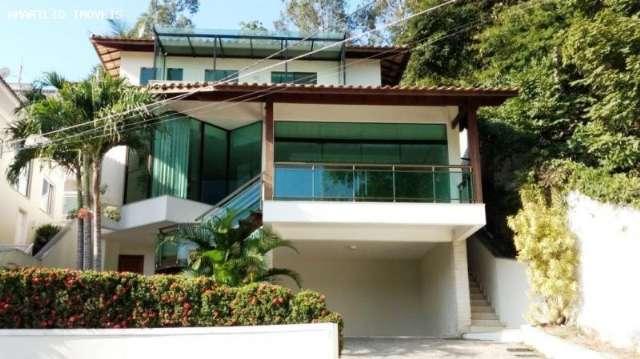 Casa duplex 242m2 4qto 3suit.2sal.5banh.2v.gar.M.Paula SG ama1023