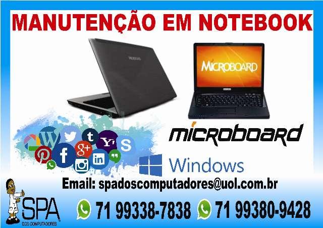 Manutenção Em Notebook Microboard Em Salvador Ba
