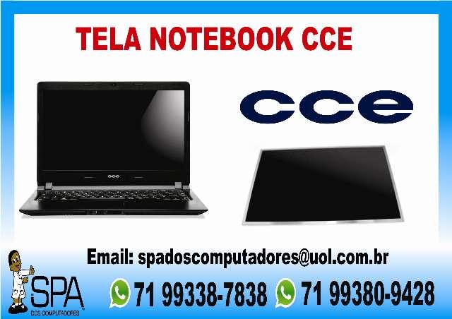 Tela Lcd Led e Led Slim para Notebook e Netbook Cce em Salvador Ba