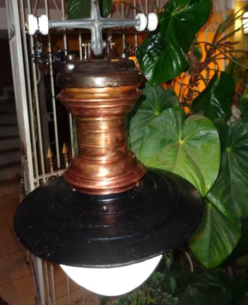 Luminária Rio antigo em estado de nova !