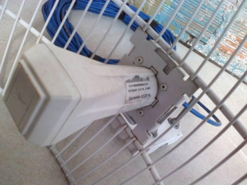 Antena Ubiquiti Airgrid M5 Agm511x14 23 Dbi Fonte Poe