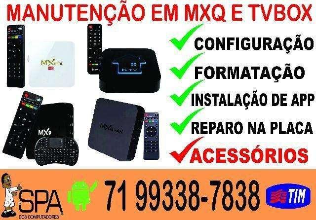 REPROGAMAÇÃO EM TVBOX, MXQ, MXQ4K