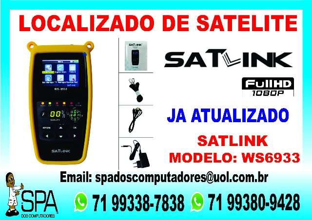 Localizador de Satélite Satlink 6933 Hd em Salvador Ba