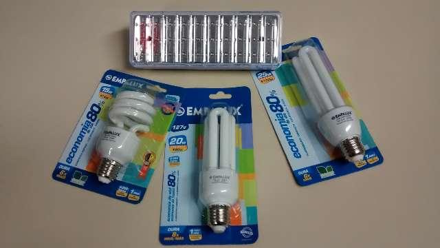 Lote de lampadas eletronica - Marca Empalux 220V - 25, 15 e 9W