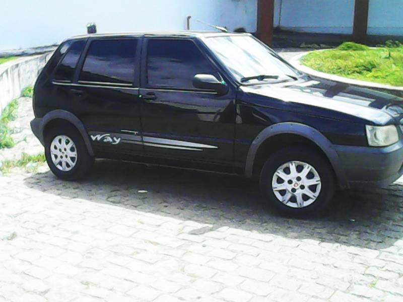 Fiat Uno Mille Fire Way Economy 2009