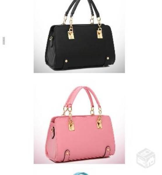 Bolsas lindas várias cores
