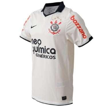 Camisa Corinthians Nike 2011 3cbee36e01515