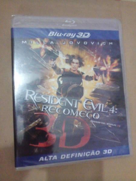 Blu-ray Resident Evil 4 em 3D