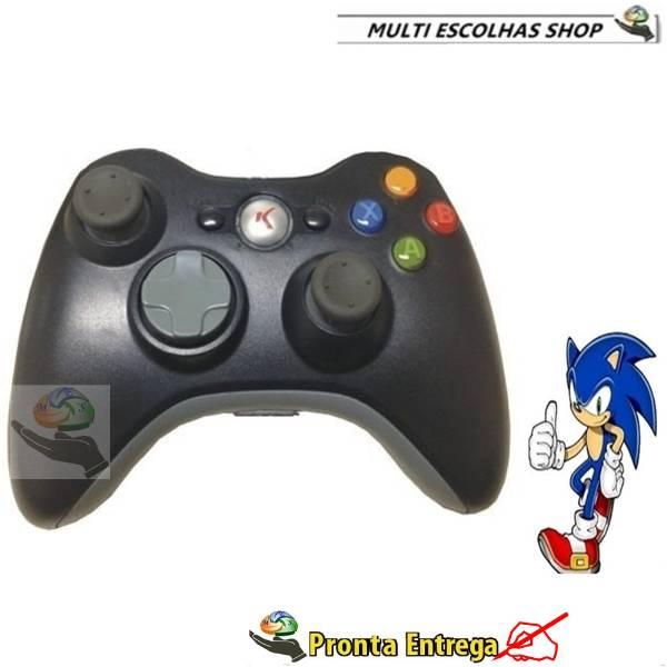 Controle Remoto sem fio para Xbox 360 Wireless knup - São Paulo - Video Games - Consoles - Santo Ama