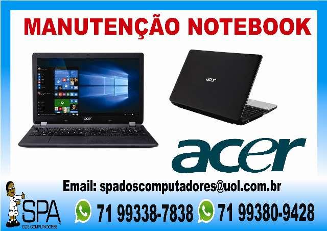 Manutenção Em Notebook Acer Em Salvador Ba